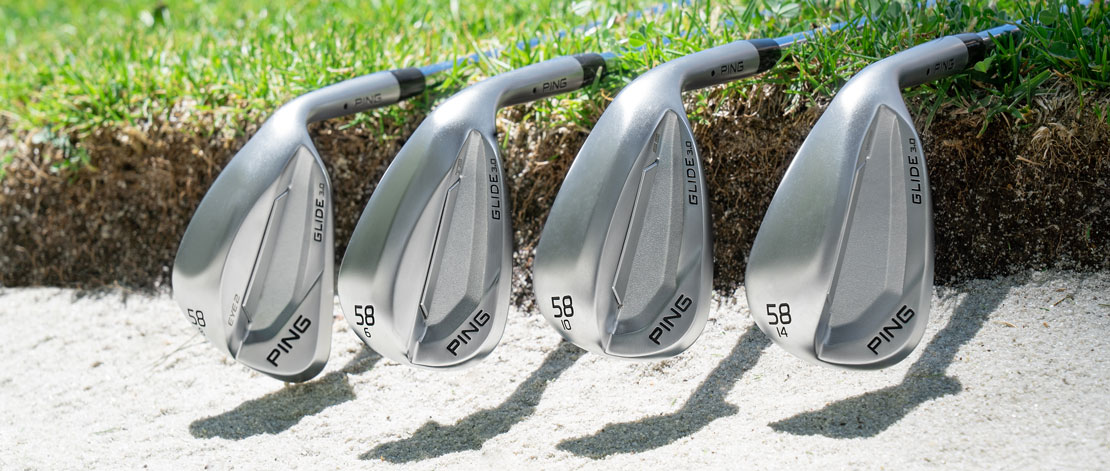 all grinds of the new PING Glide 3.0 wedges