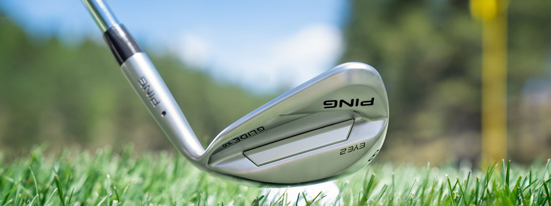 the new sole grinds for the PING Glide 3.0 wedges