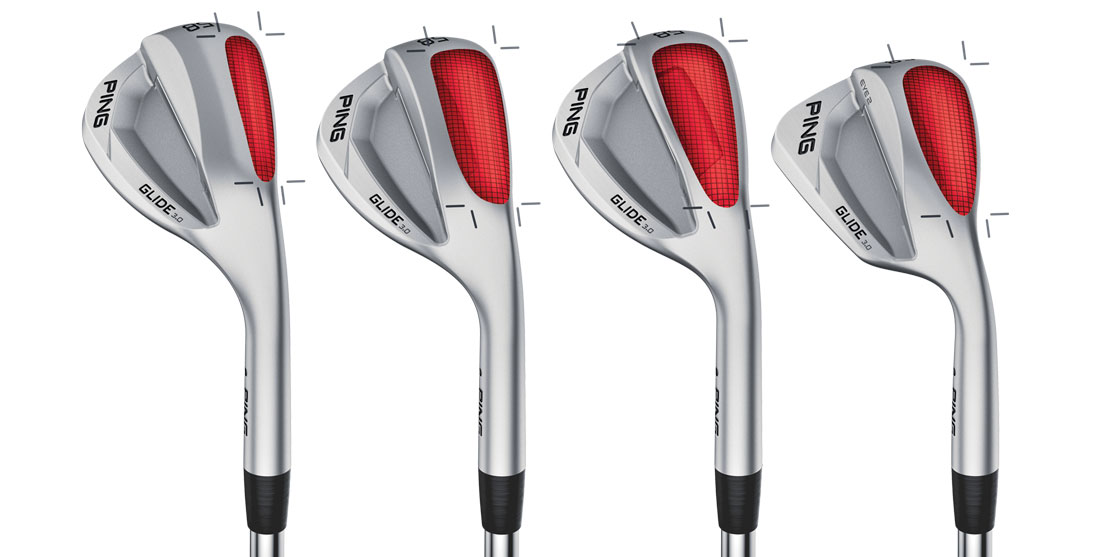 Grind options for the new PING glide 3.0 wedges