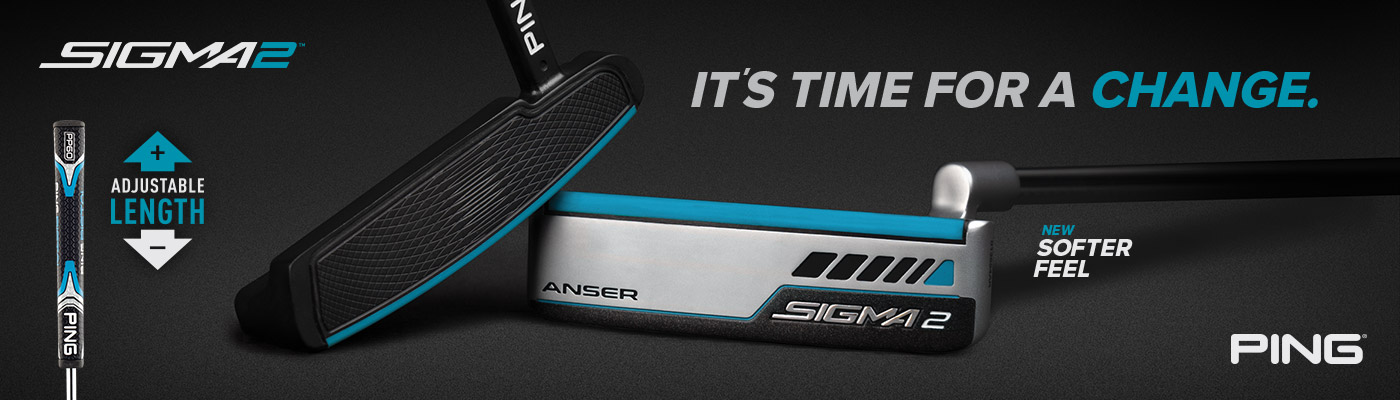 Ping Sigma 2 Putters Banner Image