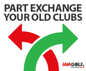 Trade in golf clubs for part exchange