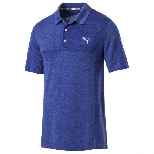 3D Knit Breakers Mens Golf Polo Shirt