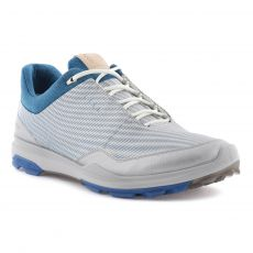 Biom Hybrid 3 GoreTex Mens Golf Shoes White/Olympian Blue