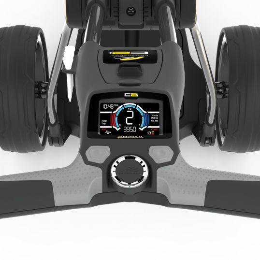 Powakaddy Compact C2i Electric Golf Trolley with Lithium Battery