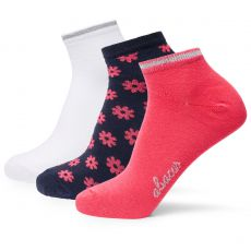 Camargo 3 Pack Socks Poppy Red