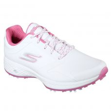 Go Golf Pro Ladies Golf Shoes White/Pink