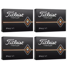 Personalised Pro V1 Golf Balls - 4 for 3 Dozen