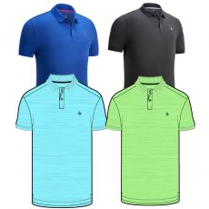 Two Tone Jersey Polo