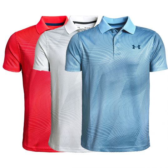 greatvarieties detailed look discount price Under Armour Boys Performance Polo Novelty Polo