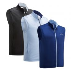 High Gauge Full Zip Fleece Vest