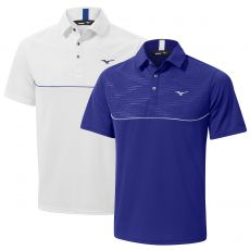 Solar Cut Panel Polo Golf Shirt