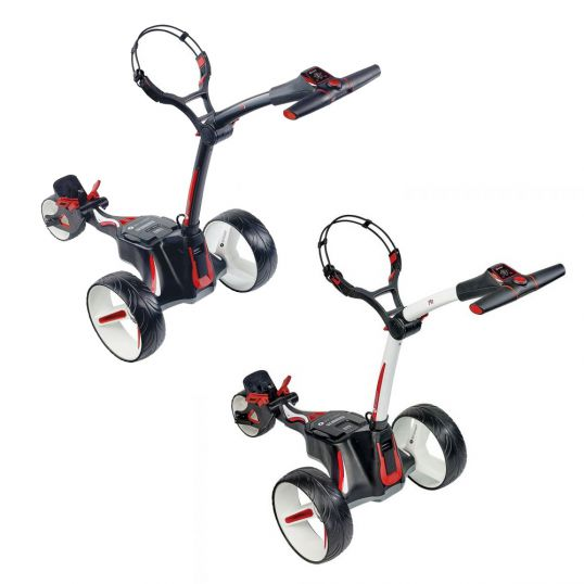MotoCaddy M1 Electric Golf Trolley with Lithium Battery