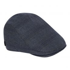 Lopez Golf Flat Cap Blue