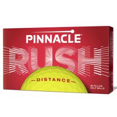 Rush Yellow Golf Balls 15 Pack 2020