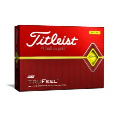 TruFeel Yellow Golf Balls