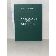 Paul McGinley Landscape of Success Book Personally Signed