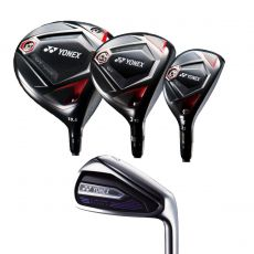 Ezone GT Driver, Fairway Wood, Hybrid, Elite 2 Iron Bundle
