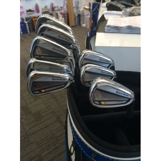 TaylorMade RocketBladez Tour Irons Steel Shafts Right