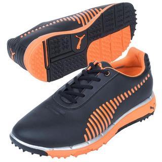 Puma Faas Grip Junior Shoes Black Vibrant Orange  ffa09b042