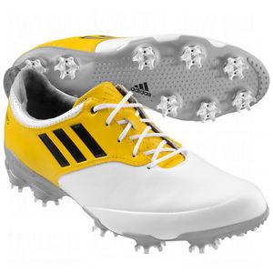 eb063aef4171fe Adidas Adizero Tour Shoes White Yellow