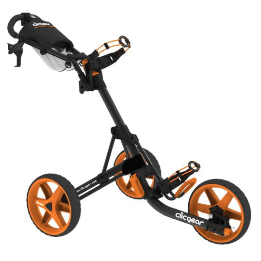 3.5+ Trolley Charcoal/Orange