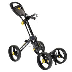 Quattro Compact 4 Wheel Trolley Black
