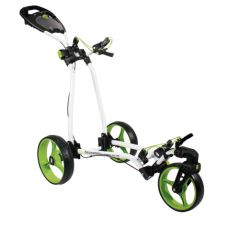 Classic Plus 3 Wheel Trolley White/Green