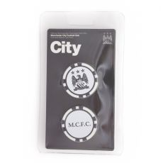 Man City Poker Chip Markers