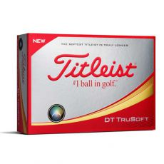 DT TruSoft White Golf Balls 2018