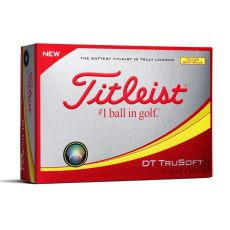 DT TruSoft Yellow Golf Balls 2018