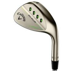 Mack Daddy 3 Milled Gold Nickel Wedge