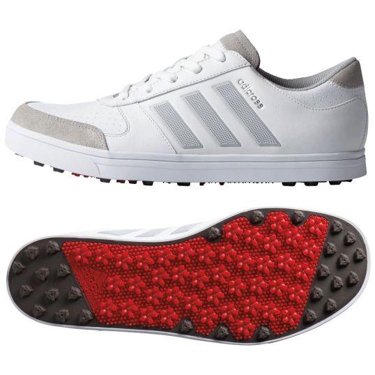 ADIDAS Adicross Gripmore 2 Mens Golf Shoes White/Onix/Red | Mens ...