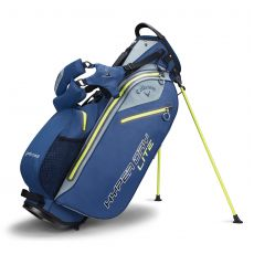 Hyper Dry Lite Stand Bag Navy/Silver/Green