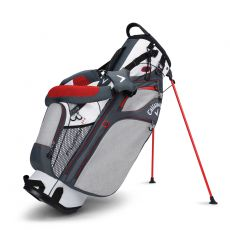 Fusion 14 Stand Bag White/Titanium/Orange