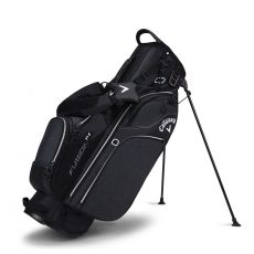 Fusion 14 Stand Bag Black/Silver/White