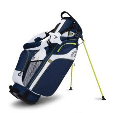 Fusion 14 Stand Bag Navy/White/Green
