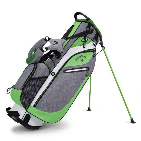 Callaway Hyper Lite 3 Stand Bag Grey Green White Stand
