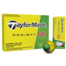 Project A Yellow Golf Balls 2017