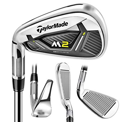 TaylorMade M2 Irons Graphite Shafts 2017 Left Handed   Irons at JamGolf