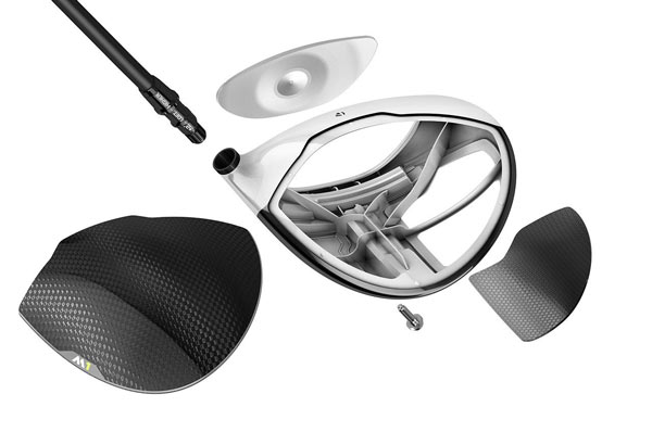 TaylorMade M1 Driver Exploded View
