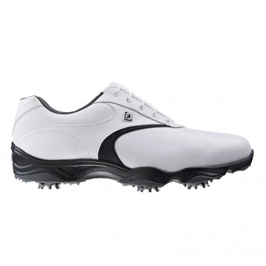 AWD XL Mens Golf Shoes White/Black 2016