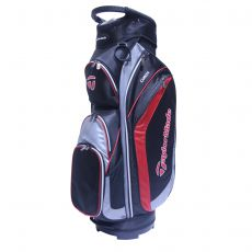 Corza Cart Bag Black/Charcoal/Red 17