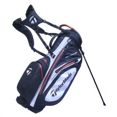 WaterProof Stand Bag Black/White/Red 17