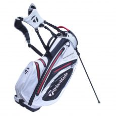 WaterProof Stand Bag White/Black/Red 17