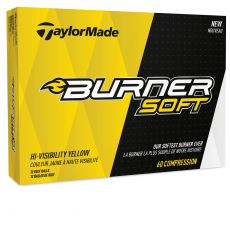 Burner Soft Yellow Golf Balls 2017