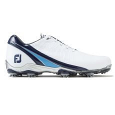 DNA Mens Golf Shoes White/Navy/Light Blue 2017