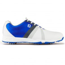 Energize Mens Golf Shoes White/Blue 2017