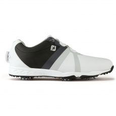 Energize Boa Mens Golf Shoes White/Black 2017