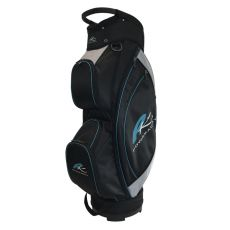 Lite Cart Bag Black/Silver/Teal