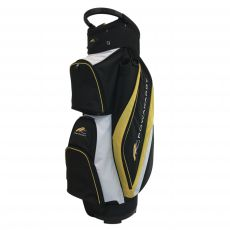 Deluxe Cart Bag Black/White/Yellow